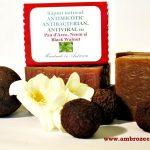 sapun natural antimicotic cu pau d'arco si nuca neagra